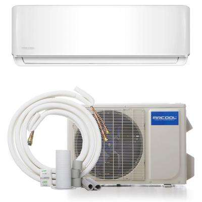 DIY 12,000 BTU 1 Ton Ductless Mini-Split Air Conditioner and Heat Pump - 115V/60Hz