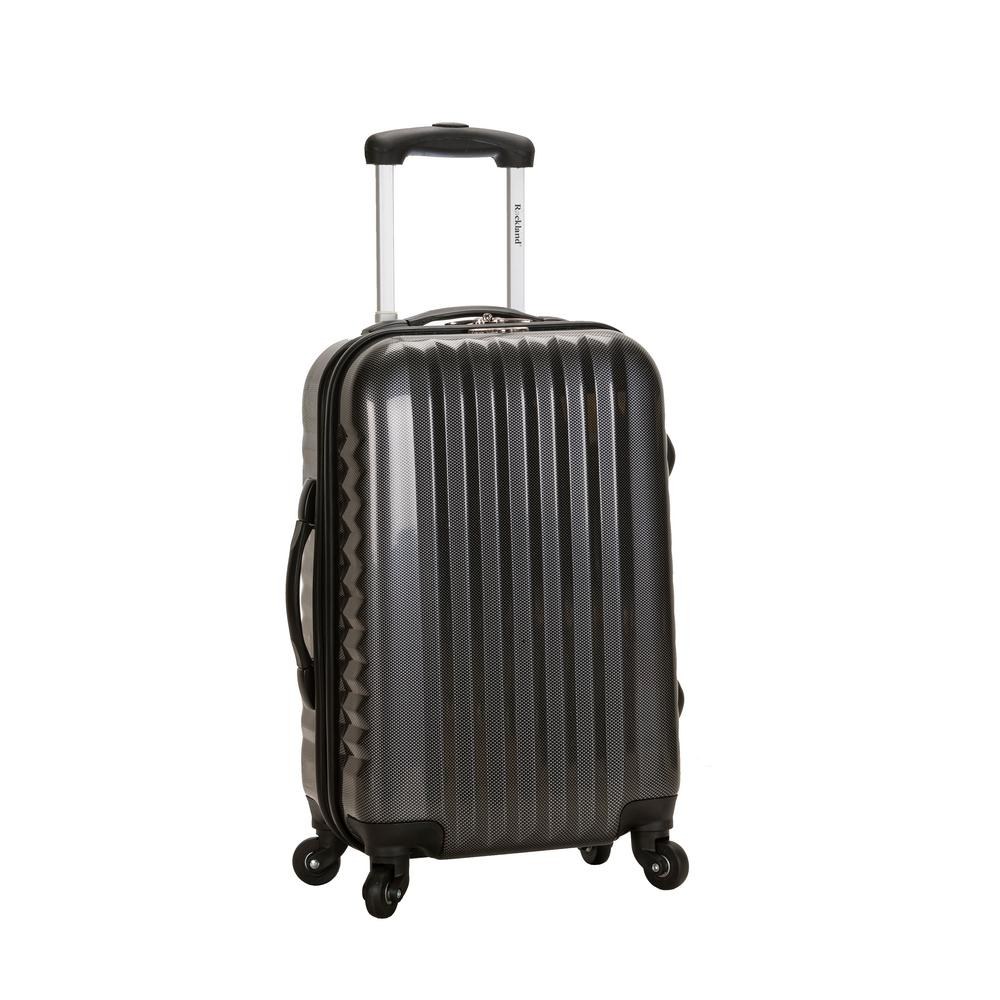 Rockland 20 in. Carry On Luggage, Black
