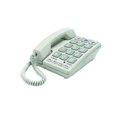 Big Button Corded Telephone - Sandal