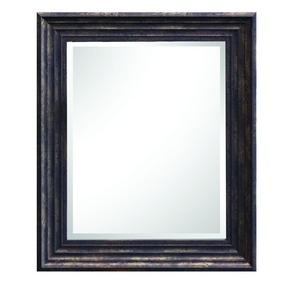 Yosemite Home Decor Espresso Mirror Frame-MINT016 - The Home Depot