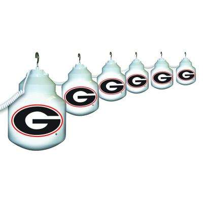 6-Light Outdoor University of Georgia String Light Set