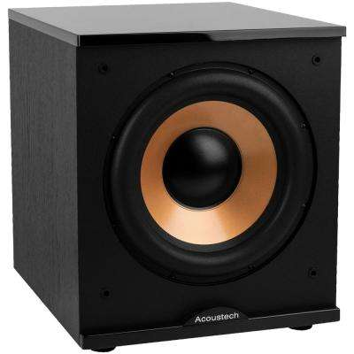 500-Watt Acoustech Series 12 in. Front-Firing Powered Subwoofer