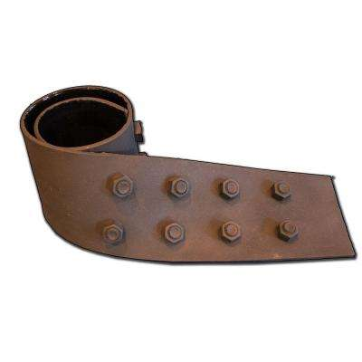 S 06 - 6 in. x 42 1/2 in. Faux Iron Strap