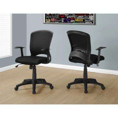 Black Multi Position Kids Office Chair