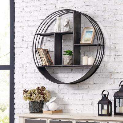 27.5 in. Brody Industrial Circular Shelf