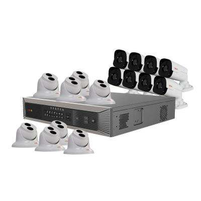 Ultra Plus 4K 16-Channel 4TB NVR Surveillance System with 16 4 Megapixel Cameras with Night Vision