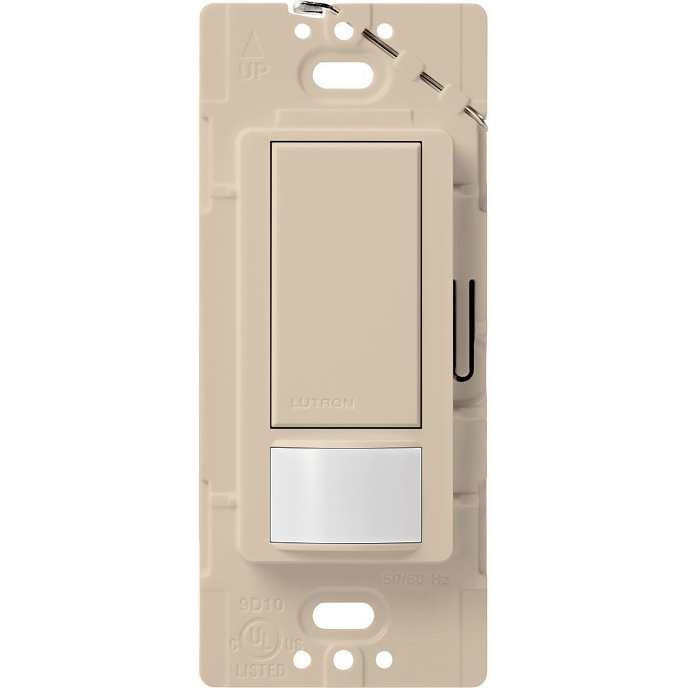 Maestro Motion Sensor switch, 2-Amp, Single-Pole, Taupe