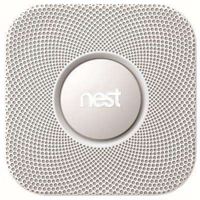 Protect Smoke and Carbon Monoxide Alarm Detector with Battery