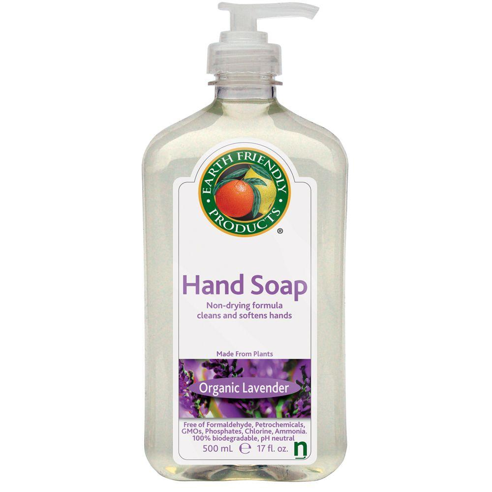 Earth Friendly Products 17 oz. Pump Bottle Lavender Scented Hand Soap