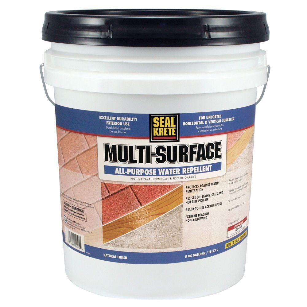 Seal-Krete 5 gal. Multi Surface Water Repellent