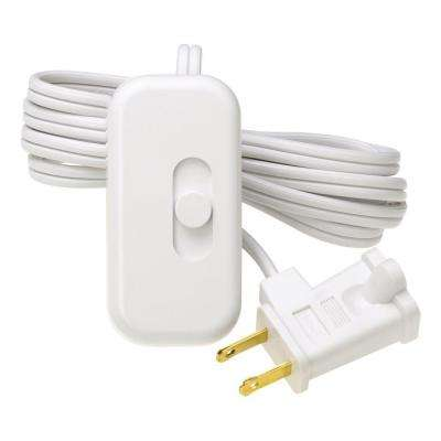 Credenza 300-Watt Plug-In Lamp Dimmer - White