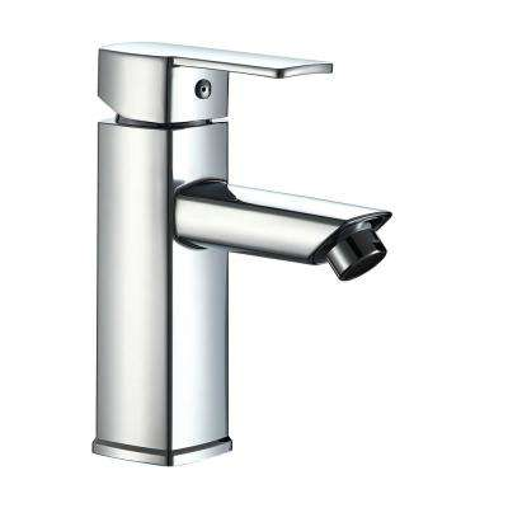 Single Handle Lavatory Faucet in Chrome Finish