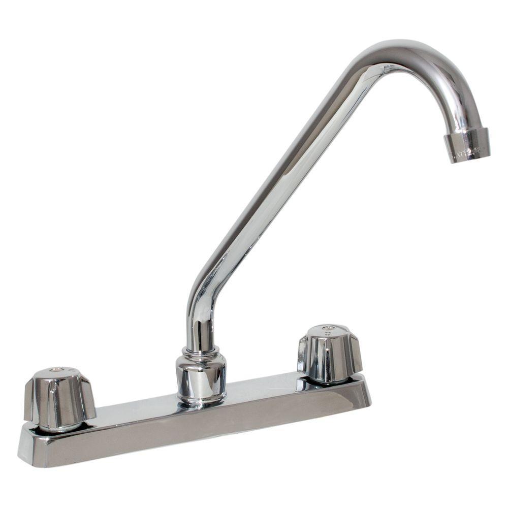 Ez flo 2 handle kitchen faucet - Kitchen faucet home depot ...