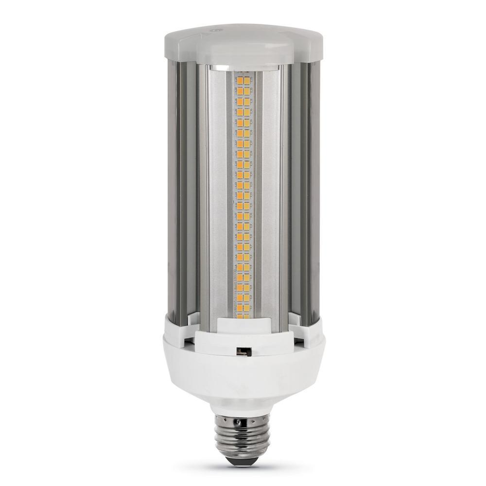 300-Watt Equivalent Corn Cob ColorChoice Soft White, Cool White, Daylight LED High Lumen Utility Light Bulb (12-Pack)