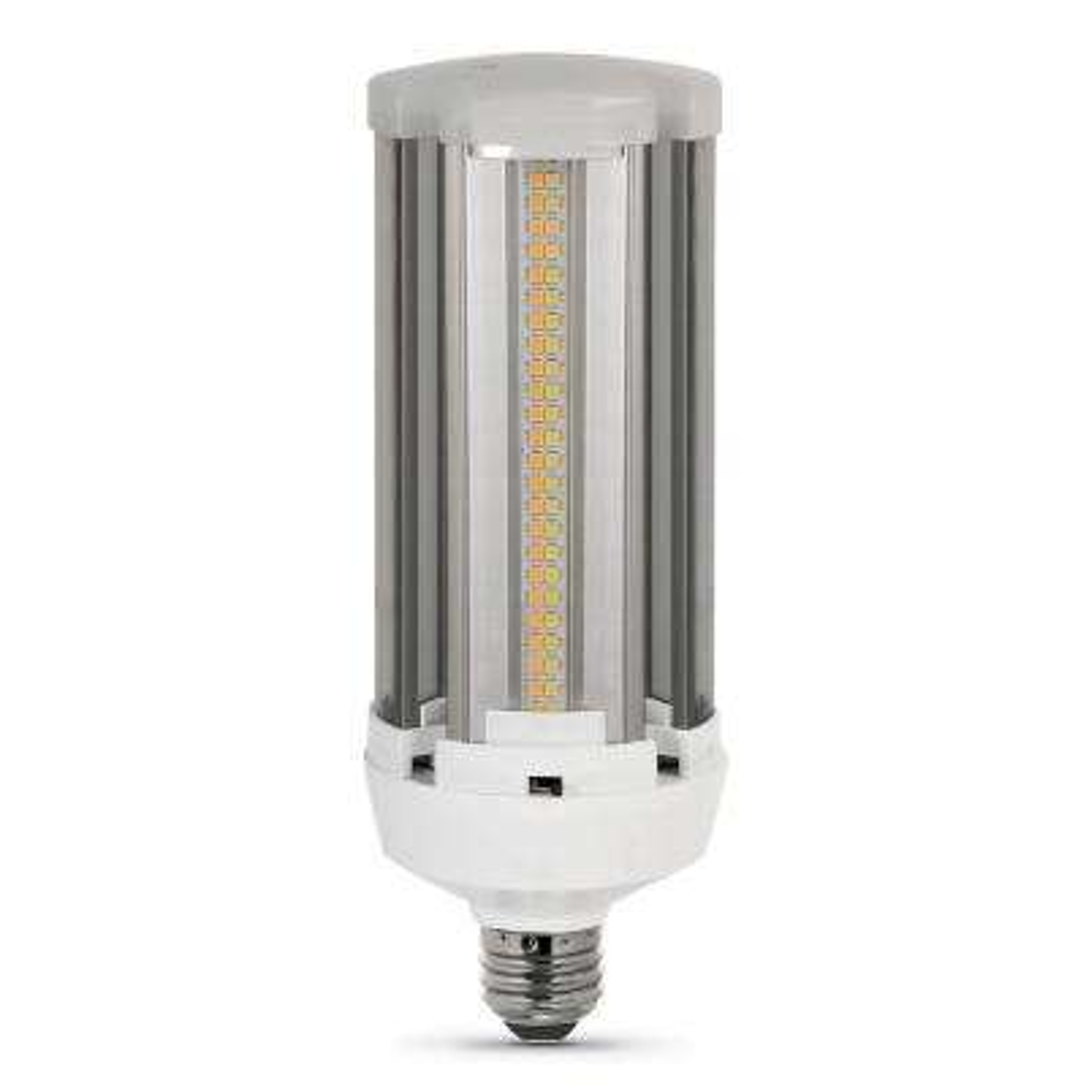 300-Watt Equivalent Corn Cob ColorChoice Soft White, Cool White, Daylight LED High Lumen Utility Light Bulb (4-Pack)