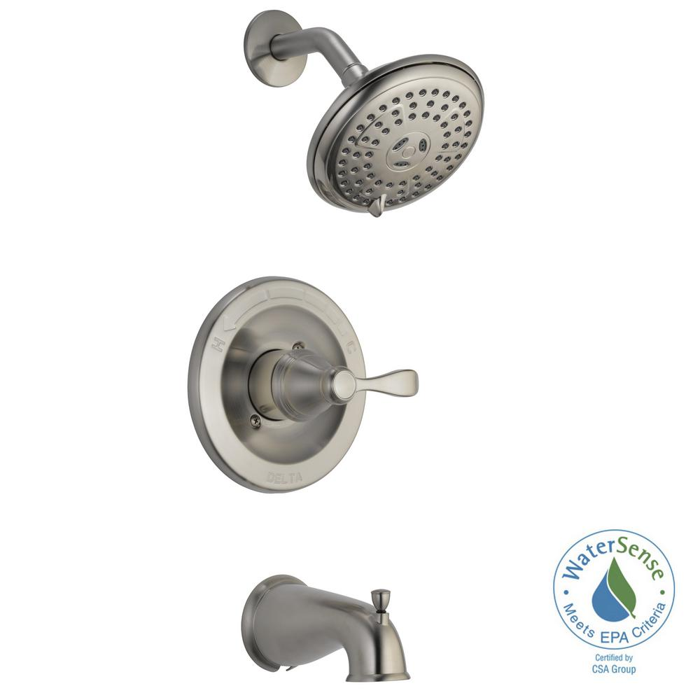 Delta - Bathtub & Shower Faucet Combos - Bathtub Faucets - The Home ...