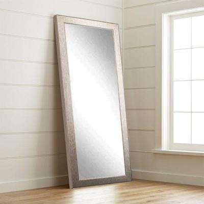 aged silver studio 32 in x 655 in tall mirror