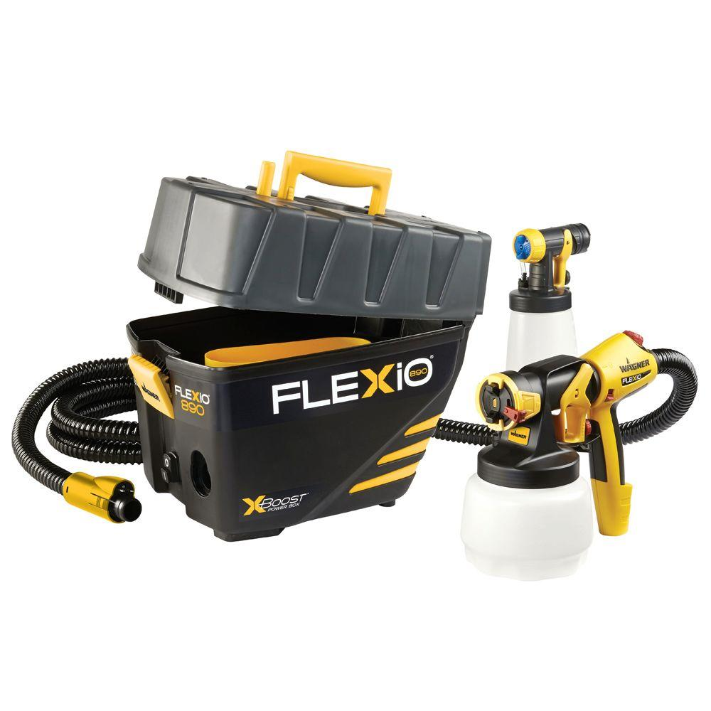 Wagner Flexio 890 Hvlp Paint Sprayer Station 0529021 The Home Depot