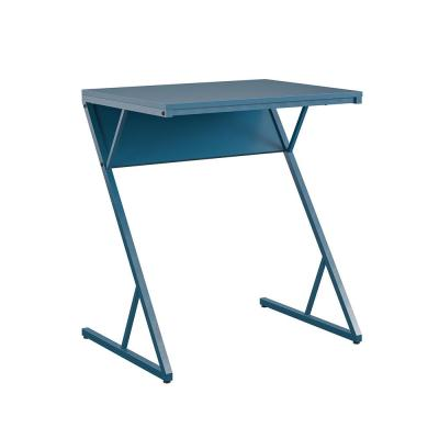 Regal 28.9 in. Blue Accent Table