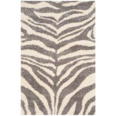 Portofino Ivory Gray 4 Ft X 6 Area Rug