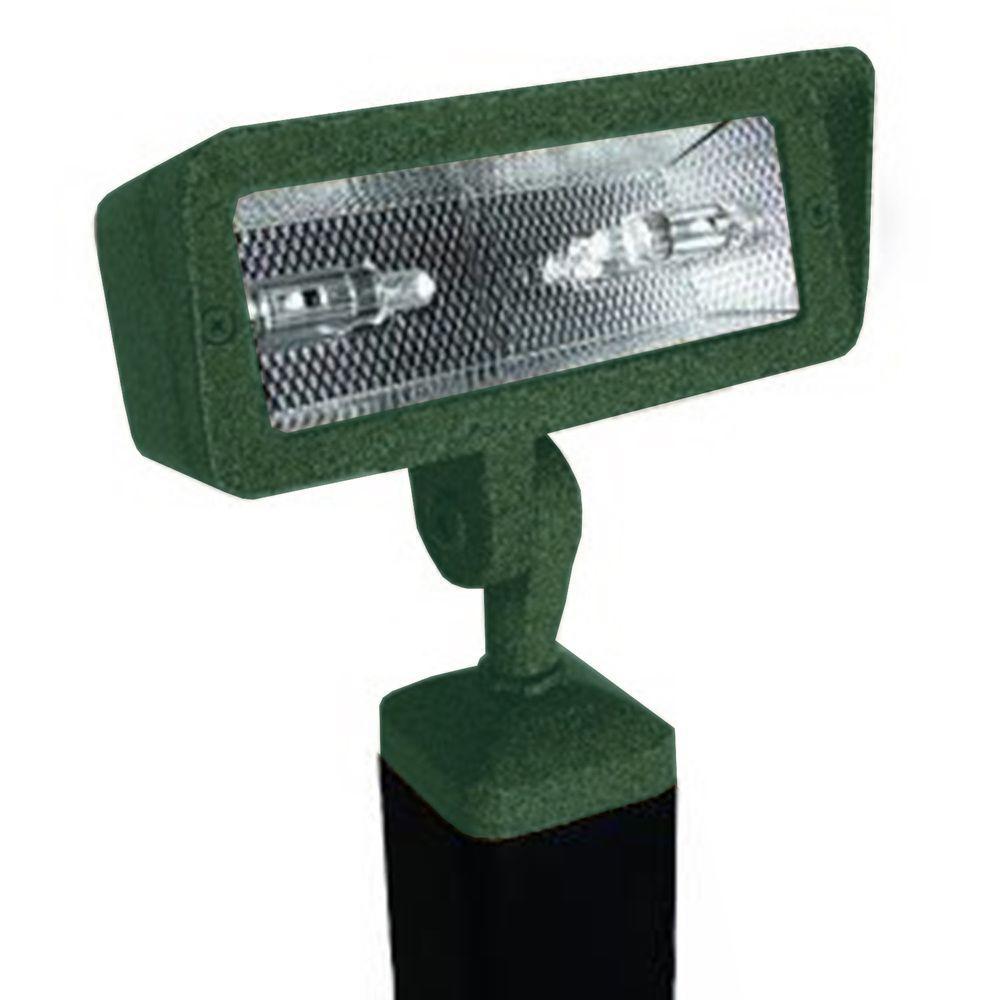 Filament Design Centennial 1-Light Outdoor LED Hunter Textured Directional Light