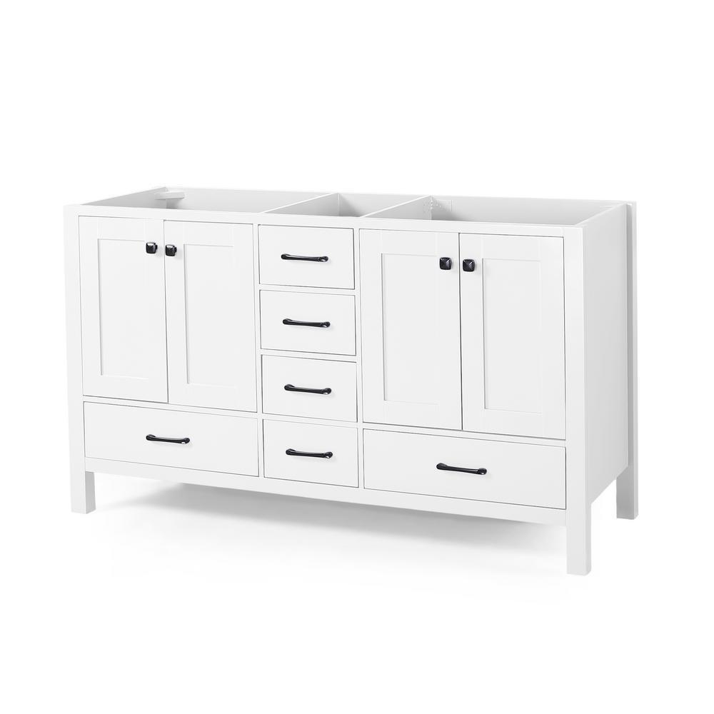 Lyndon 72 in. W x 22 in. D Bath Vanity Cabinet Only in White