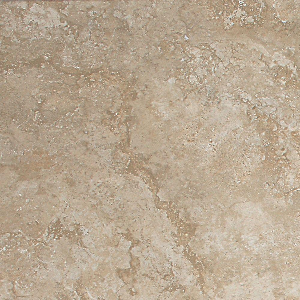Daltile Del Monoco Carmina Beige 13 in. x 13 in. Glazed Porcelain Floor and Wall Tile (14.77 sq. ft. / case)