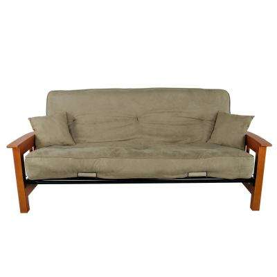In Sage Green Upholstered Futon
