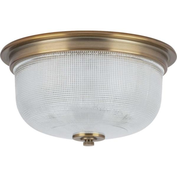 Archie 12-3/8 in. 2-Light Close-to-Ceiling