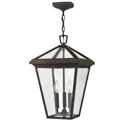 Alford Place Large Oil Rubbed Bronze Outdoor Hanging Lantern