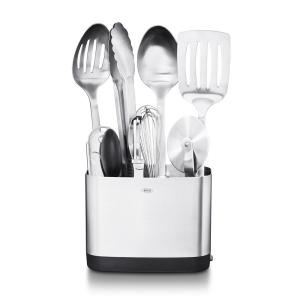 OXO Steel Kitchen Utensil Set (Set of 9) 3114500 - The Home ...