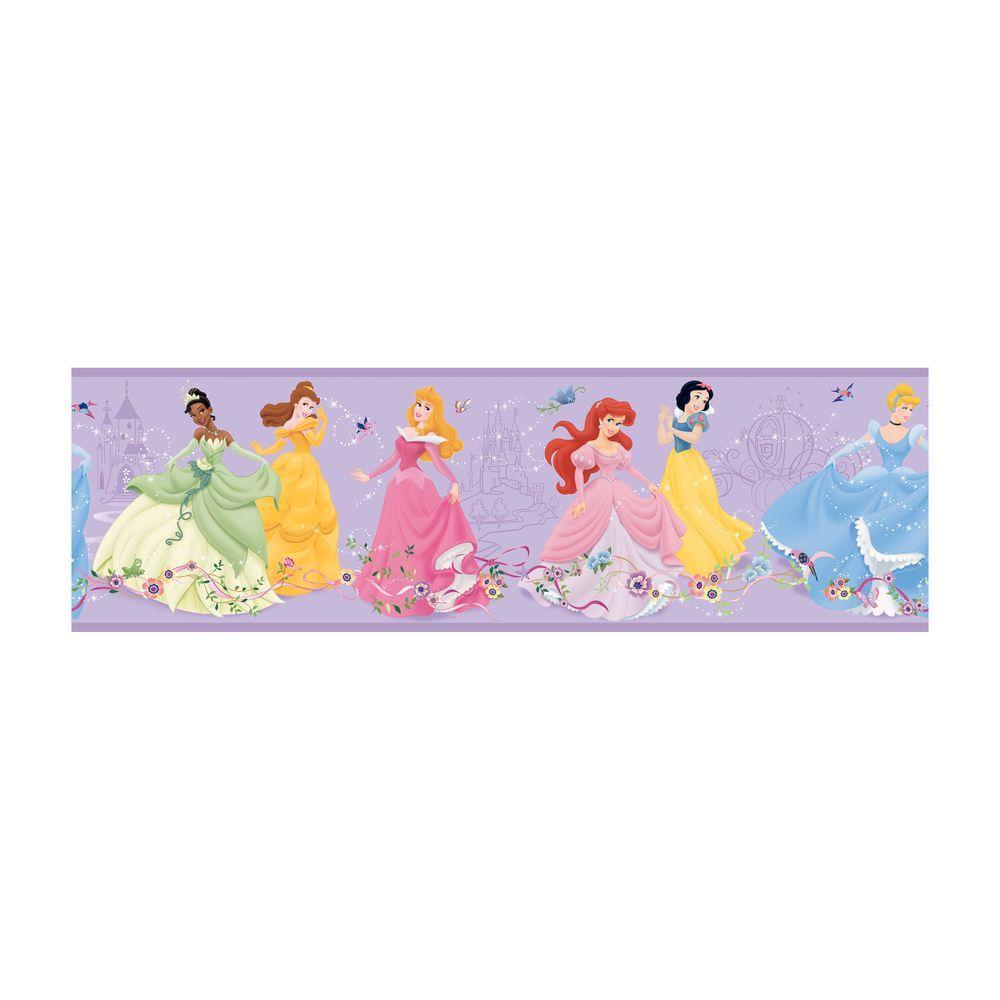 Disney Kids Dancing Princess Wallpaper Border