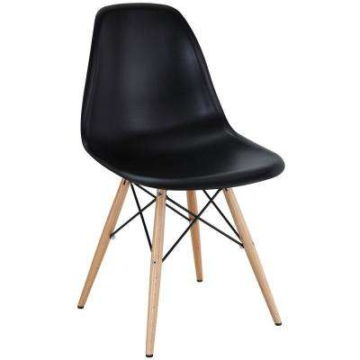 Pyramid Black Dining Side Chair