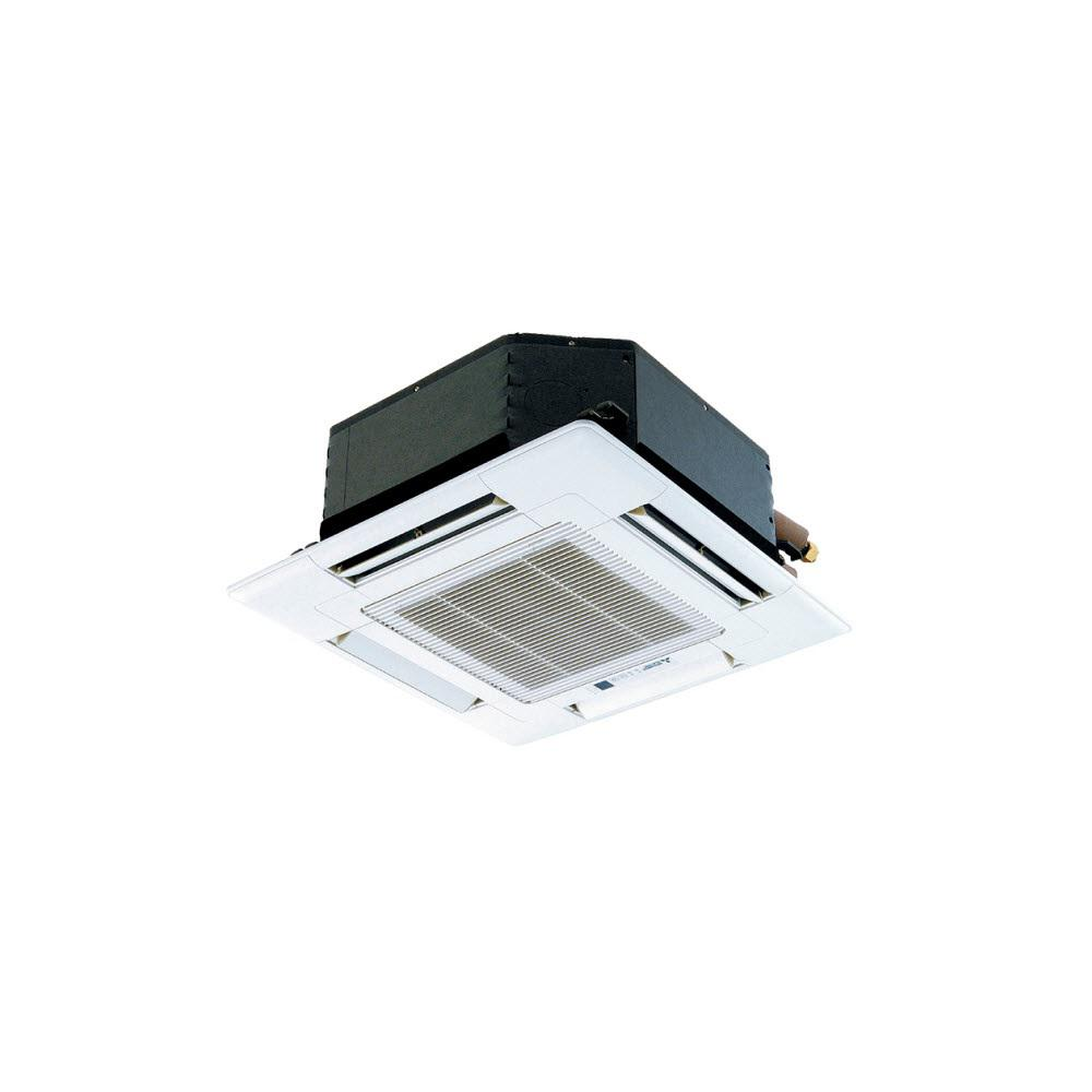 Installed M-Series Indoor Ceiling Recessed Ductless Mini-Split Heat Pump
