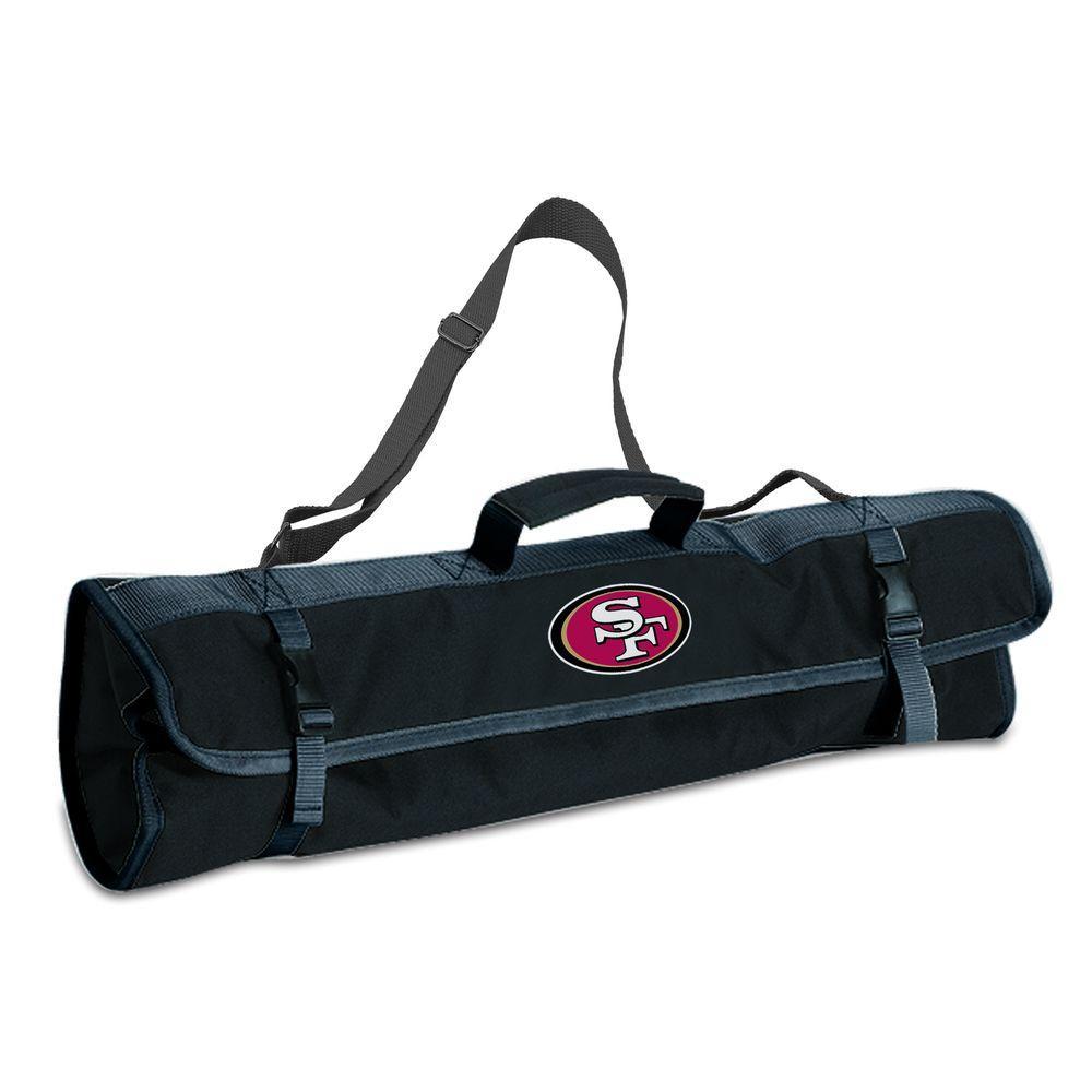 San Francisco 49ers 3-Piece BBQ Tote