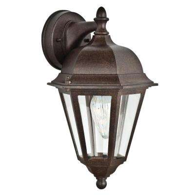 Dressback 1-Light Oil Rubbed Bronze Outdoor Wall Lantern