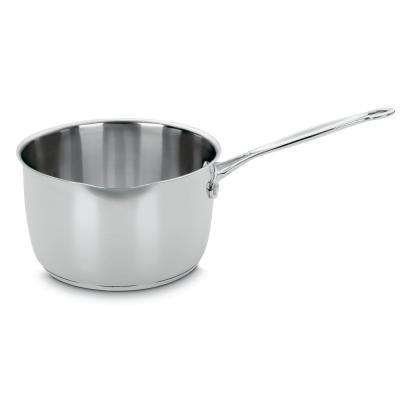 Chef's Classic 3 Qt. Stainless Steel Saucepan