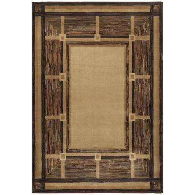 Riverway Brown 8 ft. x 10 ft. Area Rug
