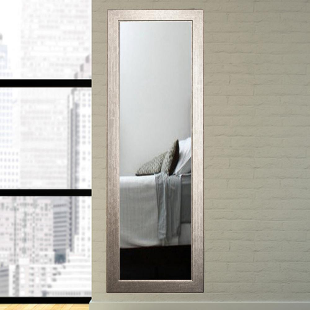 Clouded Gunmetal Tall Floor Mirror-BM025TS - The Home Depot