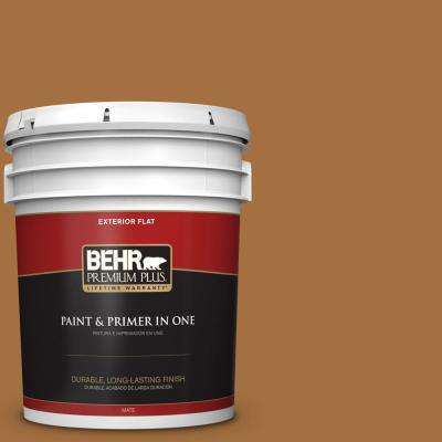 5 gal. #MQ4-5 Castellina Flat Exterior Paint and Primer in One