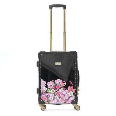 On Vacay 21 in. Pink Rolling Luggage Suitcase