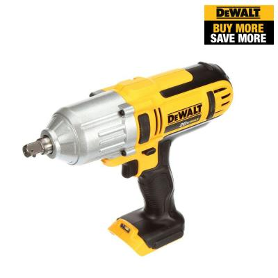 20-Volt MAX Lithium-Ion Cordless 1/2 in. High Torque Impact Wrench with Detent Pin (Tool-Only)