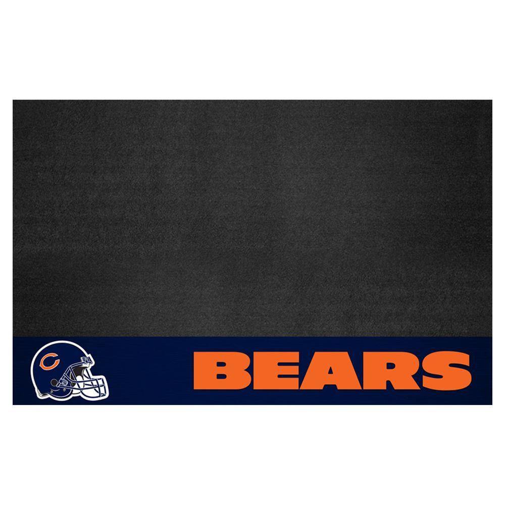 Fanmats Chicago Bears 26 In X 42 In Grill Mat 12179