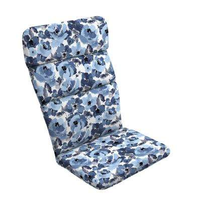 20 in. x 17 in. Garden Delight Outdoor Adirondack Chair Cushion