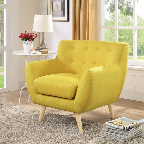 MODWAY Remark Sunny Upholstered Armchair