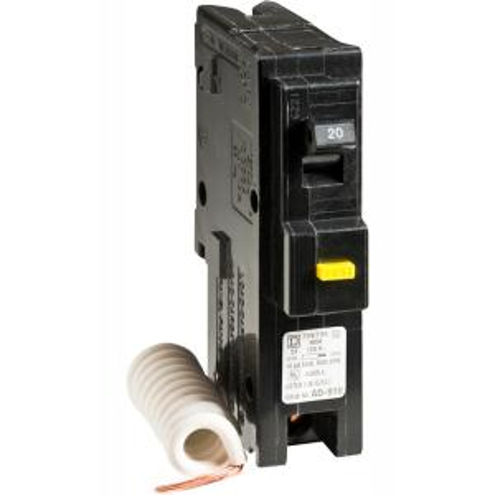 Homeline 20 Amp Single-Pole GFCI Circuit Breaker