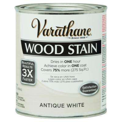 1 qt. 3X Antique White Premium Wood Stain (Case of 2)