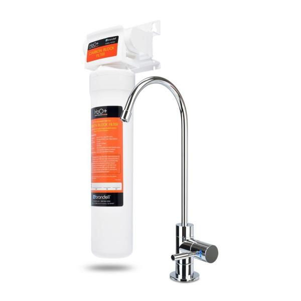 Coral Single Stage Under Counter Water Filtration System with Over 99% Lead Reduction