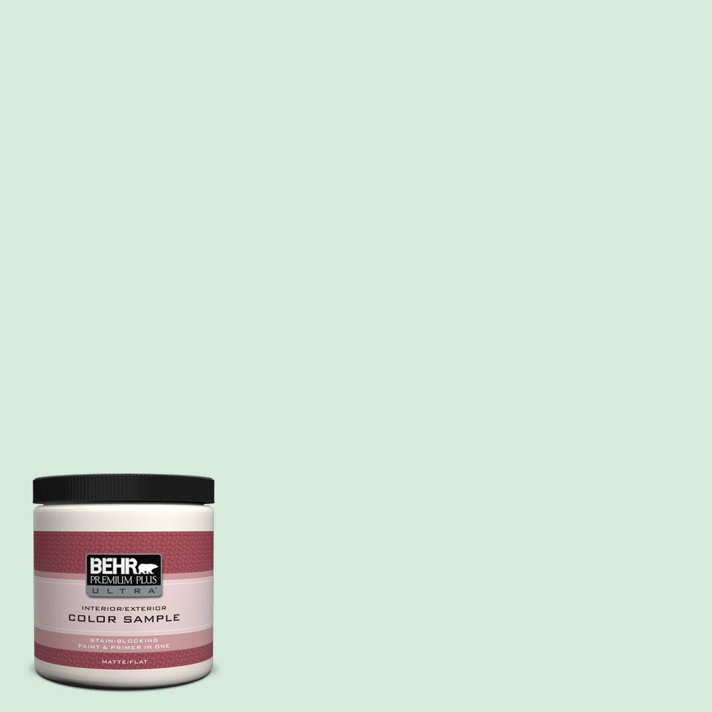 BEHR Premium Plus Ultra 8 oz. #460C-3 Venetian Pearl Interior/Exterior Paint Sample