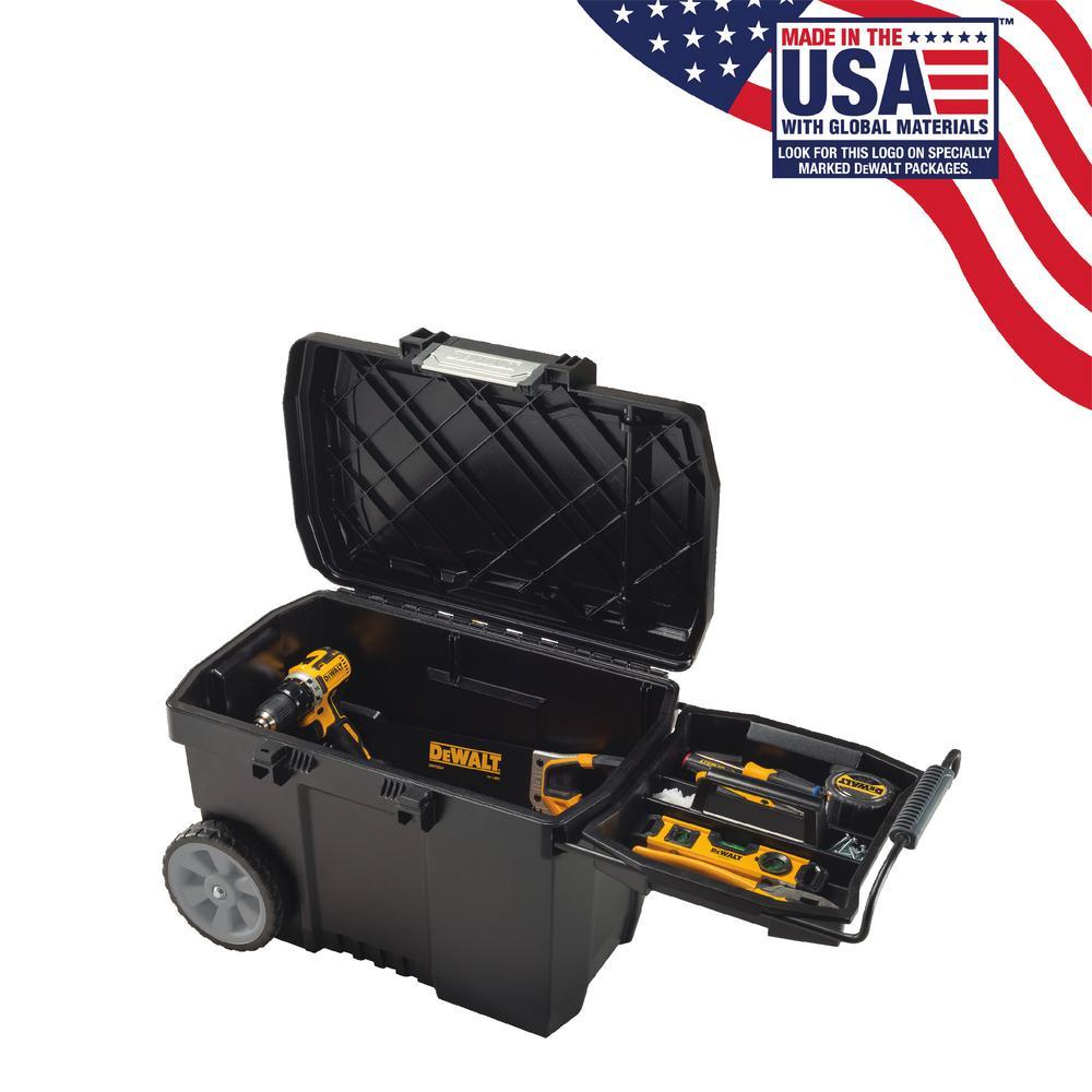 25 in. 15 Gal. Mobile Tool Box